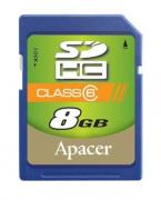 Apacer Class 6 SDHC 4GB Memory Card