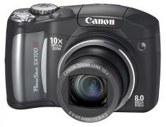 Canon Powershot SX100 IS Digital Camera Black