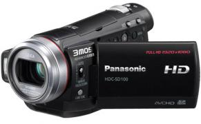 Panasonic HDC-SD100 SD Memory Card 3MOS Full-HD Digital Video Camera Camcorder PAL