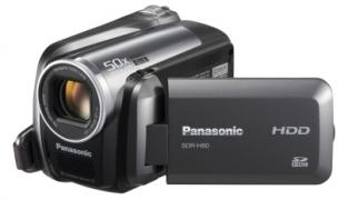 Panasonic SDR-H60 60GB HDD Video Camera Camcorder PAL