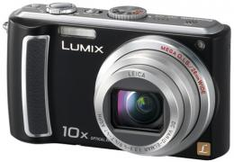 Panasonic Lumix DMC-TZ5 Digital Camera Black, Blue, Silver