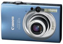 CANON IXUS80IS Digital Camera Blue, Brown, Camel Gold, Pink, Silver (Canon Aust)